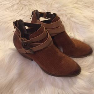 7 Raw Luck Ankle Bootie by Kenneth Cole